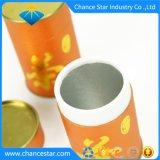 Kundenspezifisches Goldstempelnfirmenzeichen-Papiergefäß-Tee-Kasten