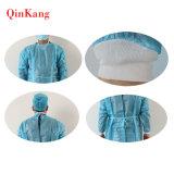 Robe chirurgicale non-tissée imperméable à l'eau remplaçable stérile