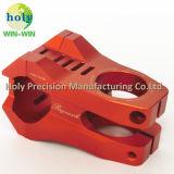 Kundenspezifischer Größen-Fahrrad-Stamm CNC-maschinell bearbeitenaluminium 6061 Teile