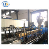 Het Plastiek die van de Uitdrijving van Haisi Huisdier pelletiseren schilfert de Machine van het Recycling af