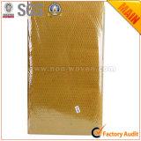 Amarelo dourado não tecido do material de embalagem no. do presente da flor 38