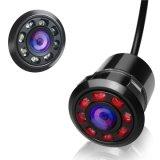 Copia de seguridad de la vista trasera del coche de la cámara de visión nocturna por infrarrojos con 8 CCD videocámara Full HD