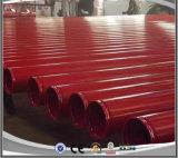 Tubi d'acciaio saldati verniciati rossi di ERW Caron scanalati per la lotta antincendio con il certificato dell'UL