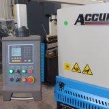 Hidráulico da marca Accurl máquina de corte de metais QC12y-12X3200 E21 para cortar folha Meta de exposição