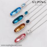 43719 Xuping hängende Halsketten-Großverkauf-Kristalle von den Swarovski Schmucksachen