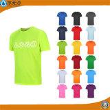 Camiseta el logotipo de la fábrica de la campaña de promoción de la impresión de publicidad camisetas