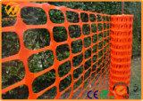 Cerca plástica alaranjada Anti-UV da barreira do controle de multidão do HDPE