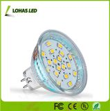 MR16 GU10 AC/DC 12V LED Spotlight lámpara de cristal de 3,5 W