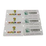 Hersteller-Barcode-Schlüsselring-Mitgliedschaft Plastik-Belüftung-Karte