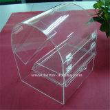 La pequeña Plaza de la Boda Regalo Caja de caramelos de acrílico transparente (BTR-K4028)