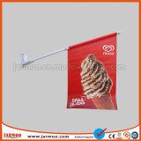 Resistente de PVC de 440 gramos de bandera de la pared de tamaño personalizado