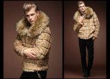 人の毛皮のコートのための冬ののどFoxの毛皮のコート