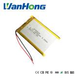 エムピー・スリーDVDのための3.7V 1500mAh 604060のリチウムポリマー電池