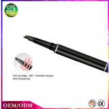 El doble de la oferta especial dirige el lápiz de ceja multicolor permanente del maquillaje de la manera