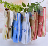 Toalha de cozinha de toalha de chá do jacquard do algodão com bordado