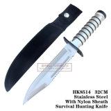 Инструменты фикчированного инструмента выживания ножей звероловства лезвия ся 32cm