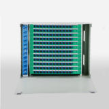 144 quadro d'interconnessione di fibra montato cremagliera delle porte ODF/con l'adattatore di FC