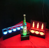 Acrílico personalizados Display stands con LED