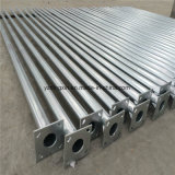 Hot-DIP Galvinized 3m-12m Farola Solar de los precios de los postes de acero