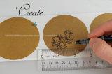 Papel Kraft auto-adesivos personalizados Etiqueta do rolo de impressão