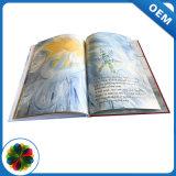 Bem projetado em cores Impressão de livro de capa dura personalizada barata