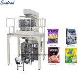 Automatique du riz, sucre, Bean, les grains, granules de machine d'emballage