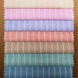 Tessuto Yarn-Dyed 100% della camicia di Oxford della banda del cotone