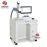 De Machine van de Druk van de Streepjescode, de Plastic het Merken Laser die van de Vezel Machine merken