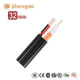 Высокая скорость CCTV RG59 + 2c ветви силовой провод коаксиальный кабель