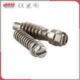 Vis à embase métallique personnalisé en laiton à six pans creux de la vis d'ancrage de cimentation