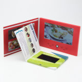 ورق مقوّى [7ينش] [لكد] شاشة بطاقة مع عادة طباعة و [فيديو كرد]