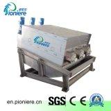 생활용품 폐수 처리를 위한 자동적인 나사 압박 진창 탈수 기계