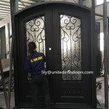 Singolo portello di entrata del ferro saldato della costruzione per la casa