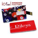 De hete Schijf van de Aandrijving van de Flits van de Kaart USB van de Naam van de Gift van het Weggevertje