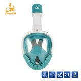 2018 a mais nova versão atualizada da máscara de mergulho com snorkel facial completa