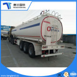 6半コンパートメント45m3石油タンカーのトレーラーが付いている食用油か水またはミルクまたは産業半石油タンカーのトレーラー(ステンレス鋼)
