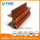 Хорошая репутация штампованного алюминия профили деревянных передачи в Фошань