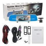 1080P scatola nera DVR dell'obiettivo dell'automobile doppia anteriore e posteriore di HD