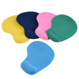 PringtingのロゴカラーLycraの布の表面が付いている環境に優しいゲルの手首残りのマウスパッド