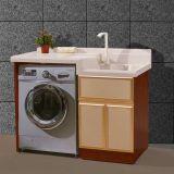 Máquina de Lavar Roupa Quartzo Artificial lavatório em granito com vaidade topo