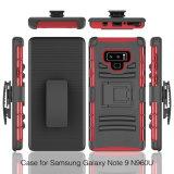 Samsungギャラクシーノート9のためのベルトクリップ携帯電話の箱