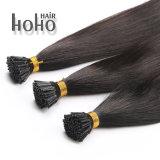 De Producten van het haar Zwart Recht Haar I van 10 Duim de Uitbreidingen van het Haar van het Uiteinde