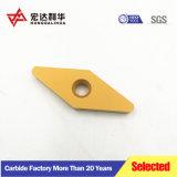 Buena resistencia al desgaste sólida CNC de carburo de tungsteno de fábrica, se inserta