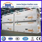 20/40pés ISO/GNL LCO2/lar/Lo2 tanque de armazenamento com semi reboque Transporte