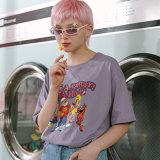 남녀 공통 낮은 MOQ 고품질 OEM 주문 여자 t-셔츠