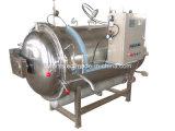 Sistema automático de peixes Caned Pote Esterilização Horizontal