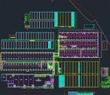 Tapete de transporte frigorífico a Linha de Montagem da Transmissão do Transportador de fabricação da linha de produtos de Fábrica