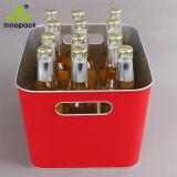 カスタムビールのための長方形によって印刷されるメタアイスペールのクーラー
