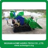 絶頂の米のコンバイン収穫機の小さい米の収穫機械