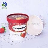 4oz 8 oz 12oz Gelado descartáveis Iogurte copo de papel com as tampas da tampa